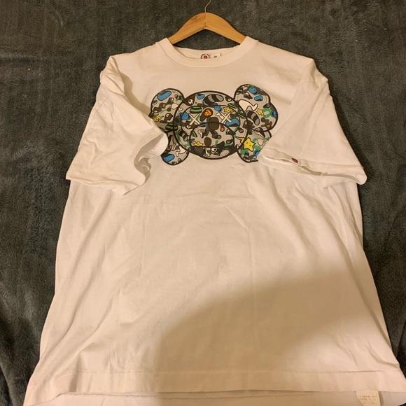Bape X Kaws >> Bape Shirts Vintage X Kaws Size Xl Poshmark